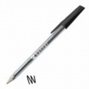 Banner Medium Ballpoint Pens - Black<br>Pack of 50